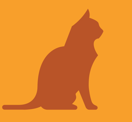 Orange cat icon