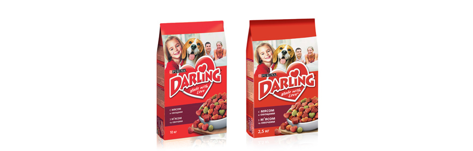 Корм для собак Purina Darling