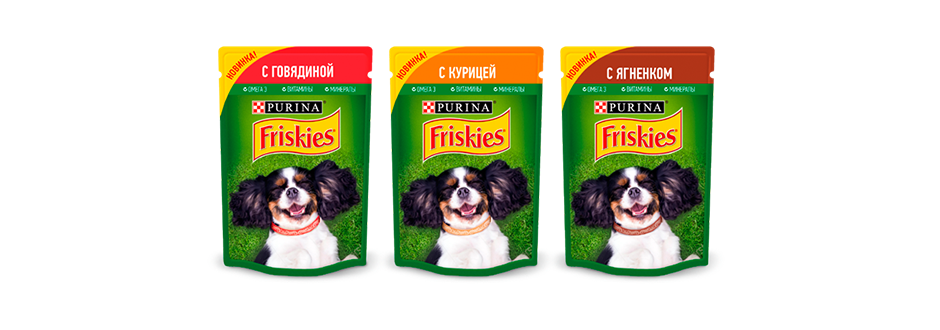 Корм для собак PURINA Friskies